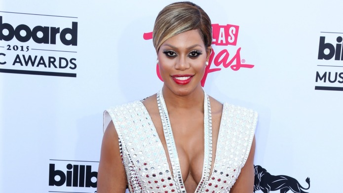 Laverne Cox receives a standing ovation