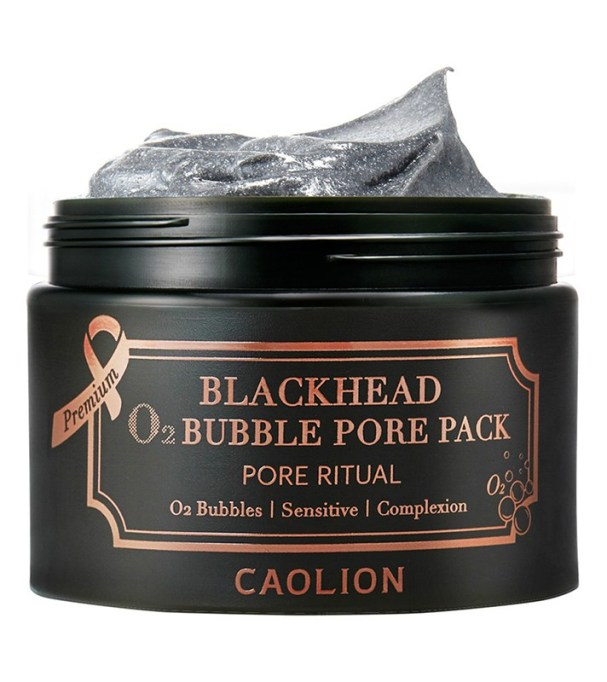 The Best Korean Skin Care Products at Target: Caolion Premium Blackhead O2 Bubble Pore Pack   Best Skincare Products 2017