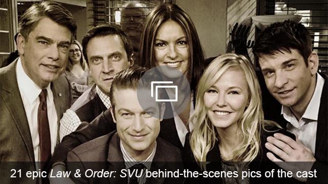 SVU behind the scenes slideshow