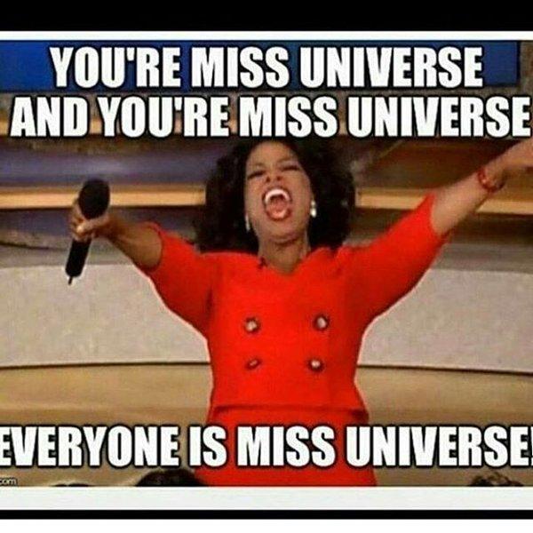 Oprah Miss universe meme