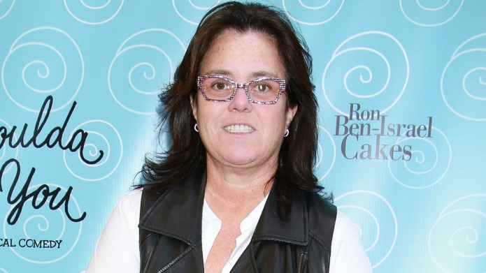 Rosie O'Donnell rallies for those abused