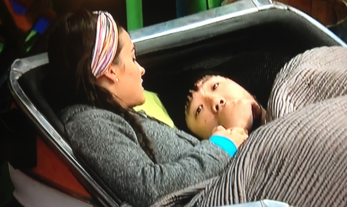 Natalie and James Big Brother