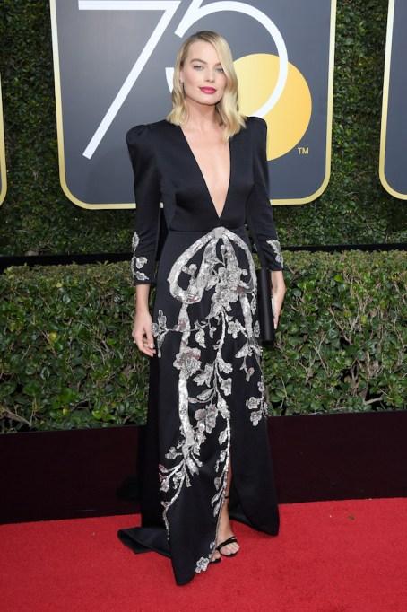 Best Golden Globes fashion 2018: Margot Robbie