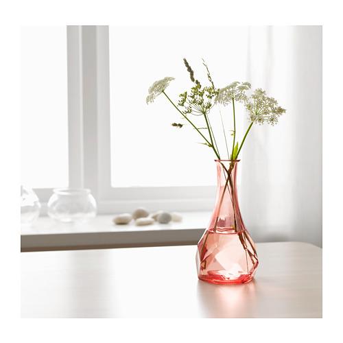 Ikea Generöst vase pink