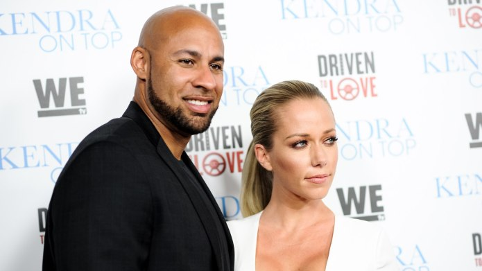 Kendra Wilkinson Hung Out With Hank