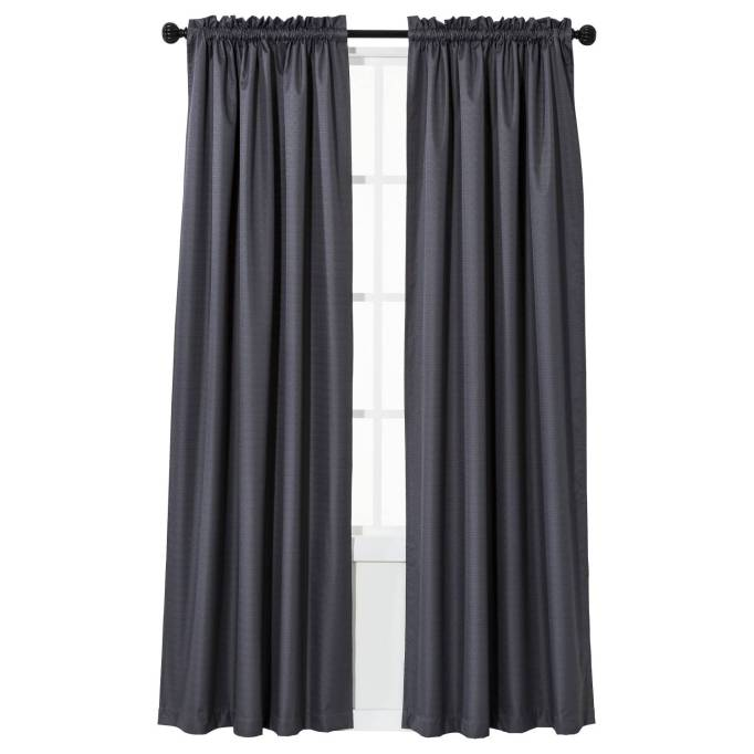 Gifts for better sleep | Braxton Thermaback Light Blocking Curtain Panel Gray