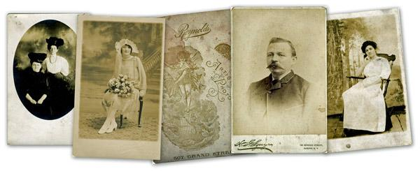 Genealogy research: What vintage photograph formats