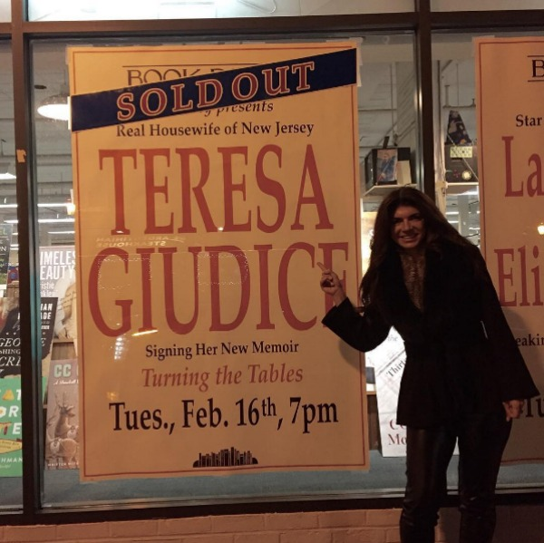 Teresa Giudice sold-out signings