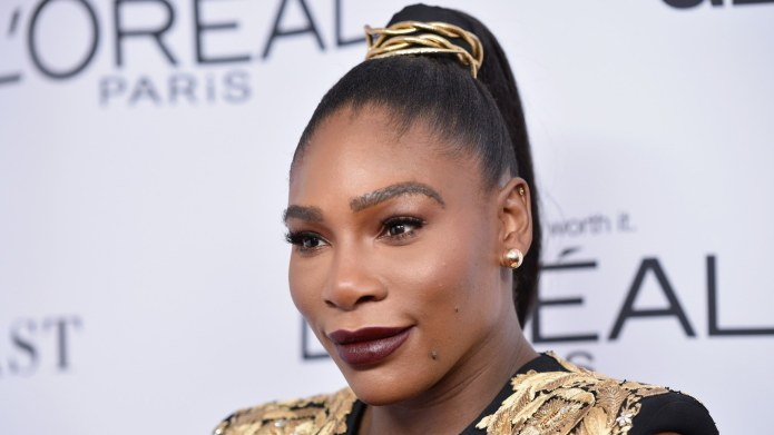 Serena Williams' Baby Daughter Makes Her
