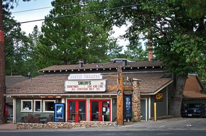 Idyllwild, California local Rustic Theater