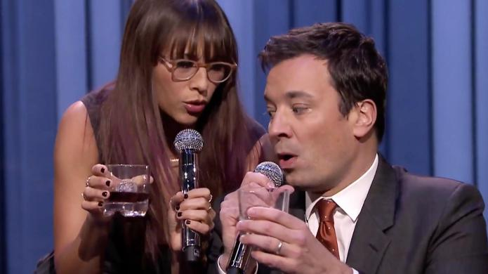 Jimmy Fallon and Rashida Jones just