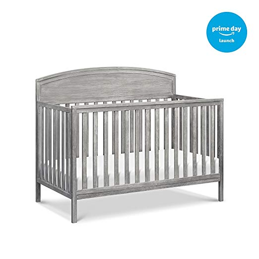 DaVinci Liam 4-in-1 Convertible Crib, Rustic Grey