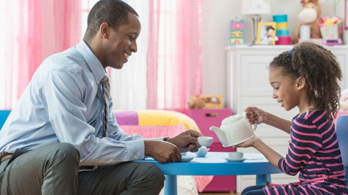 Stay-at-home dads are taking over more
