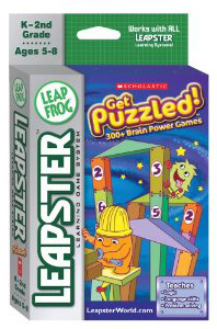 Leapster Learning Game Scholastic Get Puzzled