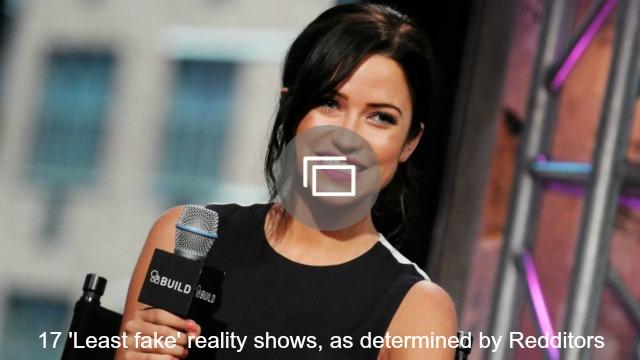 least fake reality shows slideshow