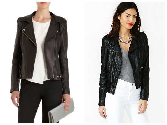 Leather jackets for fall