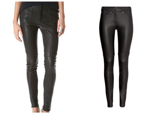 Leather pants for fall