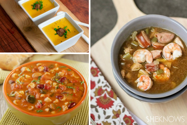Make soup out of leftovers
