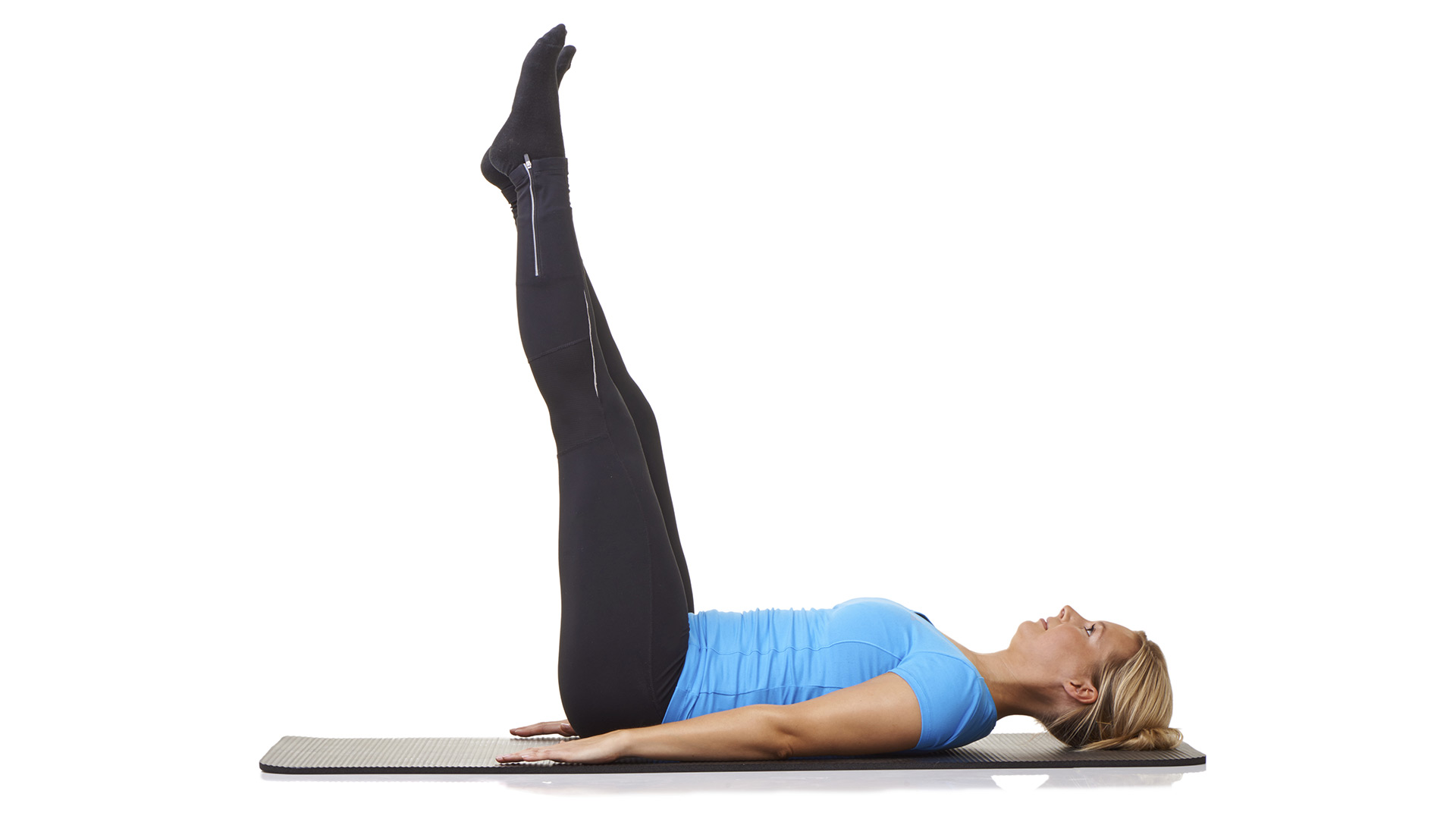 Side Saddle Leg Lifts Reps: 20 pulses and 20 circles, each ...