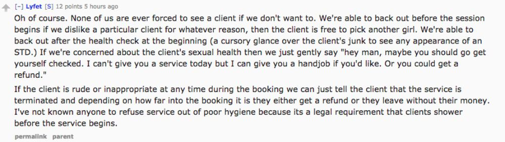 Prostitute reveals what it's like to work in a legal brothel