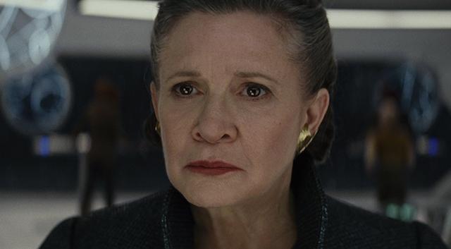 TLJ General Leia