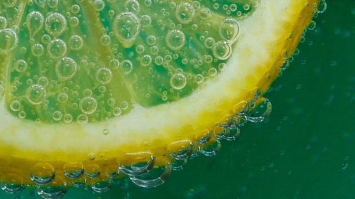 Hot water and lemon could be