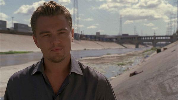 Leonardo DiCaprio tries to save the world
