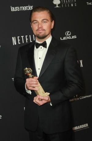 Leonardo DiCaprio credits his mother with success
