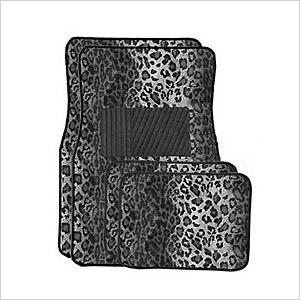 Leopard car mats