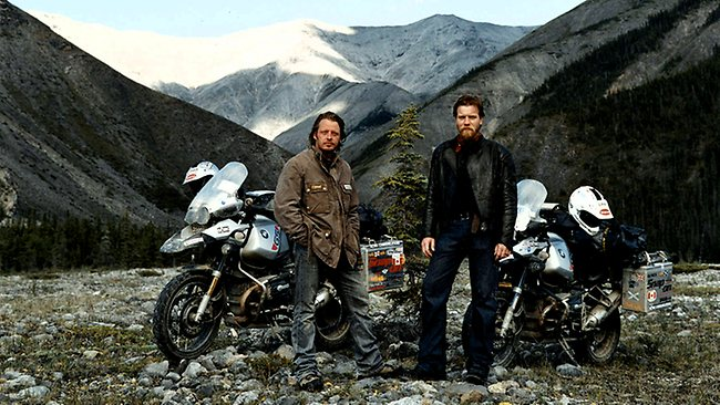Ewan McGregor and Charley Boorman in Long Way Round