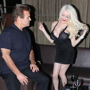 Courtney Stodden parties with a new