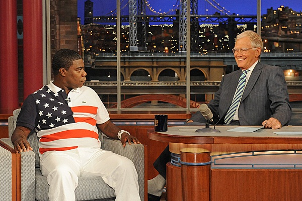 Letterman with Tracy Morgan
