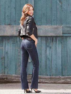 Woman wearing boot leg jeans   Sheknows.ca