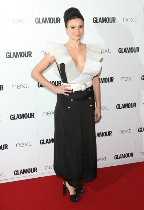 Gizzi Erskine at Glamour Women of the Year Awards