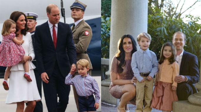 Princess Charlotte, Kate Middleton, Prince William, Prince George, Meghan and Harry Lifetime Movie