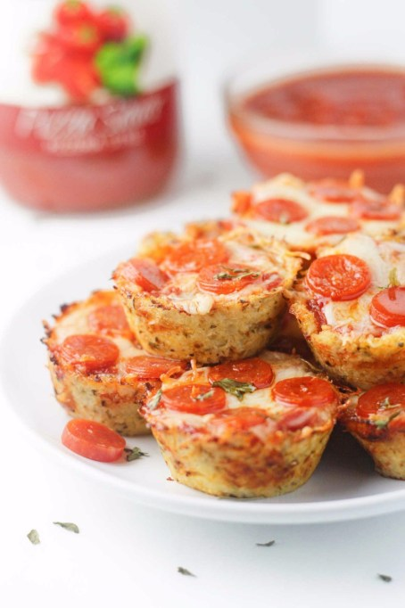 Healthy Pizza Recipes to Get Hooked On | Cauliflower Pizza Bites