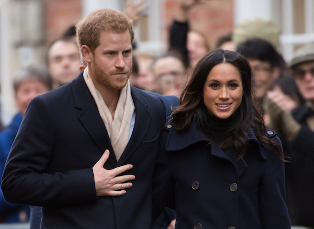 Meghan Markle and Prince Harry go on a walk around the Nottingham Contemporary
