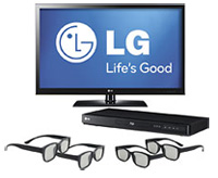 LG 47-inch Class LED HDTV Bundle Home Theater