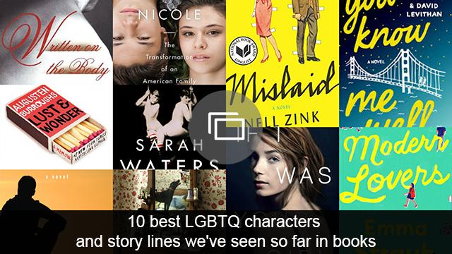 LGBT books slideshow