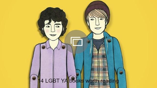 LGBTQ YA books roundup slideshow