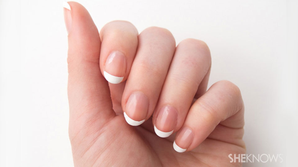 How to DIY Your Own French Manicure – SheKnows