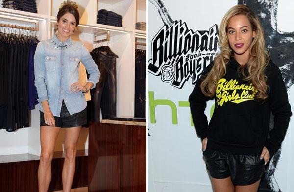 Fashion face-off: Nikki Reed vs. Beyoncé