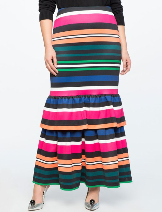 Ways To Wear Graphic Prints: skirt at Eloquii   Fall Fashion