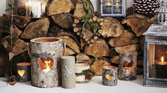Winter table decor to make your