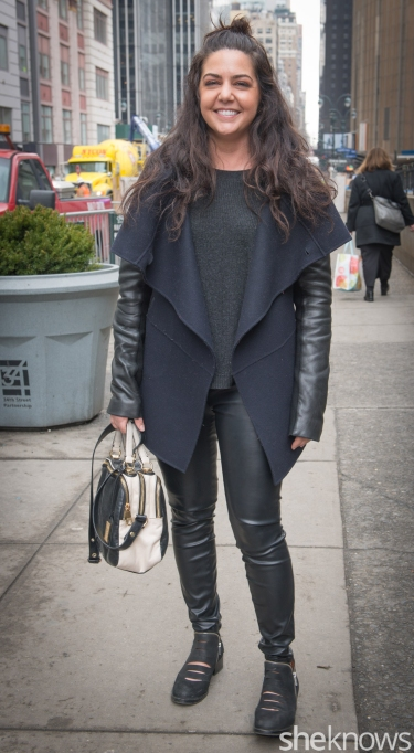 Leather pants from Lord & Taylor