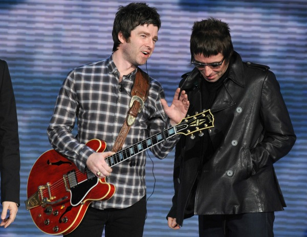 Brothers Liam and Noel Gallagher have ended their feud