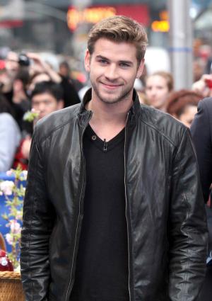 Liam Hemsworth at ABC Studios for Good Morning America