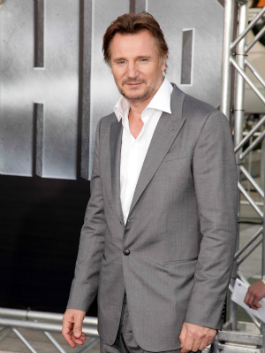 Liam Neeson at Battleship Premiere