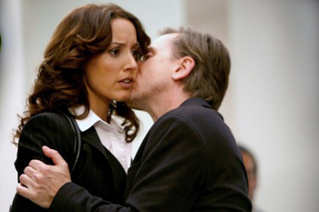 Tim Roth and Jennifer Beals on Lie to Me