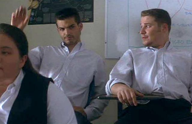 Alex Greenwald and Seth Rogen in Donnie Darko